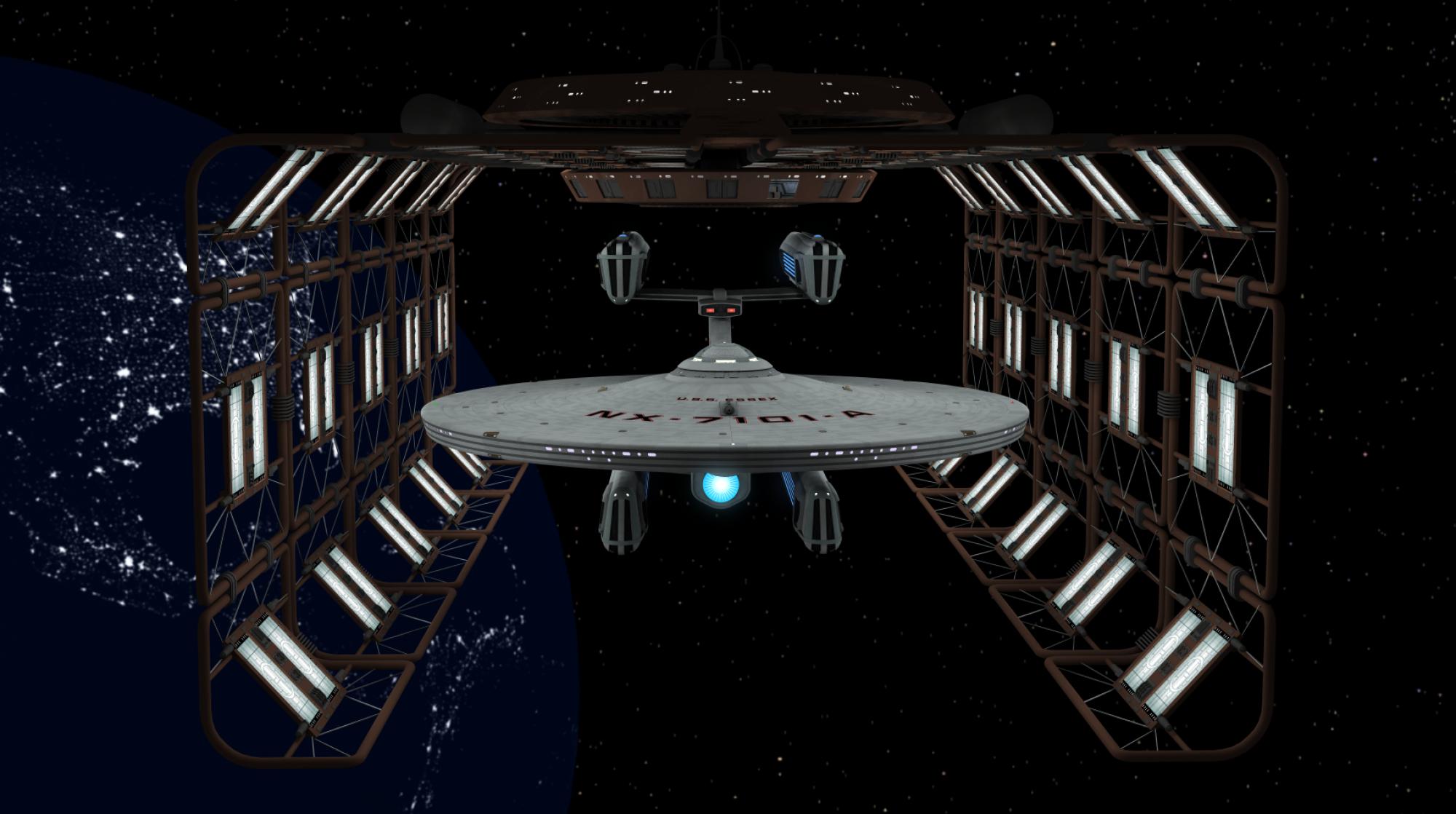 USS Essex NX-7101-A